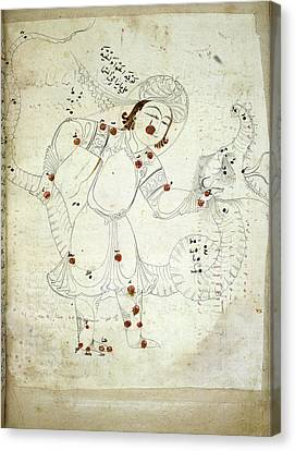 Ophiuchus Constellation Canvas Print by British Library