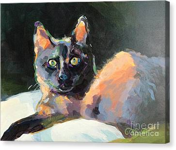 Opie Canvas Print by Kimberly Santini