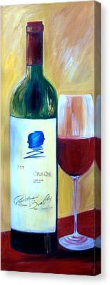 Opus One  Canvas Print by Sheri  Chakamian
