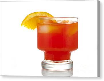 Orange Drink Canvas Print by Juli Scalzi