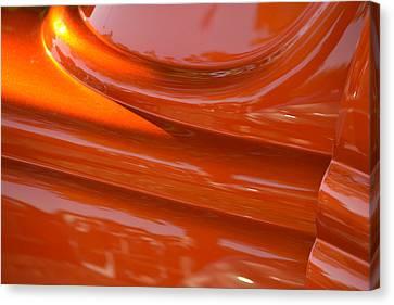 Orange Hotrod Canvas Print by Dean Ferreira