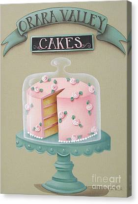 Orara Valley Cakes Canvas Print by Catherine Holman