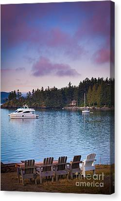 Orcas Viewpoint Canvas Print by Inge Johnsson