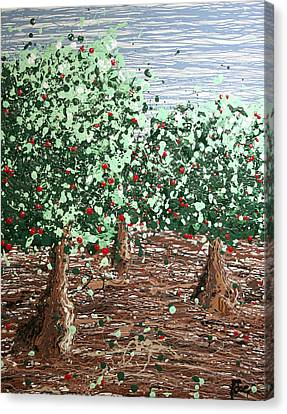 Orchard 4 Canvas Print by Ric Bascobert
