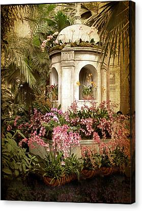 Orchid Exhibition Canvas Print by Jessica Jenney