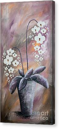 Orchids Canvas Print by Home Art