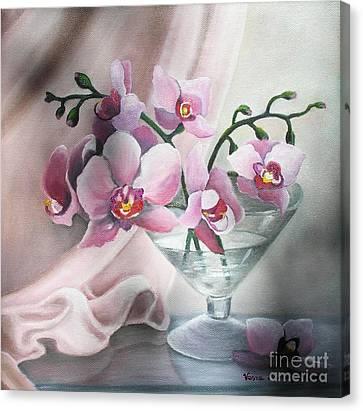 Orchids Canvas Print by Vesna Martinjak