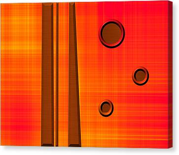 Orderly Thought Canvas Print by Wendy J St Christopher