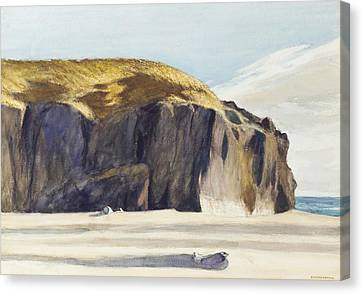 Oregon Coast Canvas Print by Edward Hopper