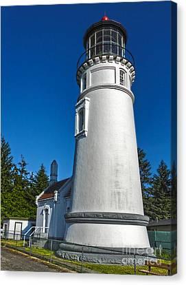 Oregon Coast - Light House Canvas Print by Gregory Dyer