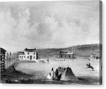 Oregon Dalles Mission Canvas Print by Granger