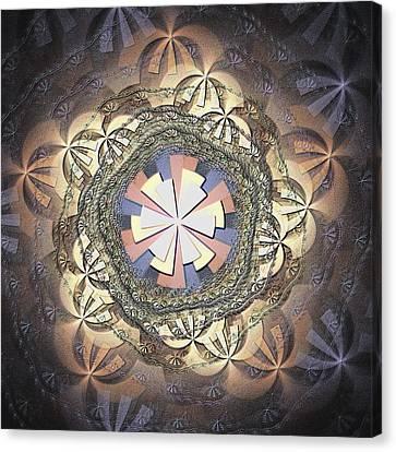 Organic Weave Canvas Print by Anastasiya Malakhova