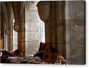 Oriental Rugs In Paris Canvas Print by A Morddel