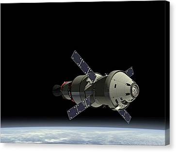 Orion Service Module Canvas Print by Movie Poster Prints