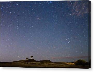 Orionid Meteor Shower Canvas Print by James BO  Insogna