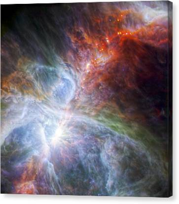 Orion's Rainbow Of Infrared Light Canvas Print by Adam Romanowicz