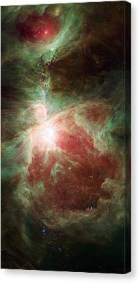 Orion's Sword Canvas Print by Adam Romanowicz