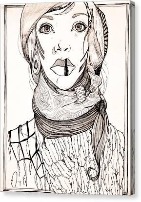 Orn  Canvas Print by Morgane Xenos