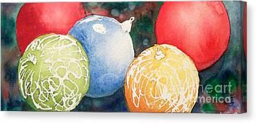 Ornaments Canvas Print by Yoshiko Mishina