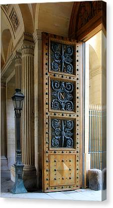 Ornate Door Canvas Print by Andrew Fare