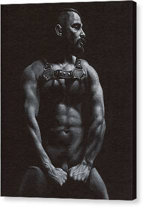 Oscuro 9 Canvas Print by Chris  Lopez