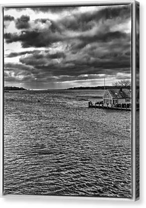 Osterville Canvas Print by Keith Woodbury