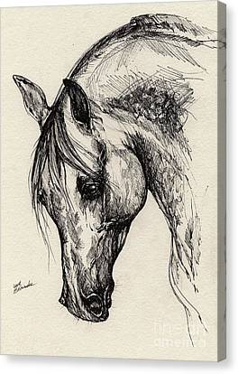 Ostragon Canvas Print by Angel  Tarantella