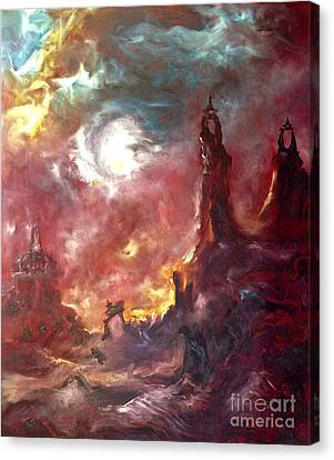 Otherworldly Canvas Print by Michelle Dommer