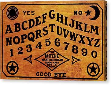 Ouija Board 1 Canvas Print by Tony Rubino