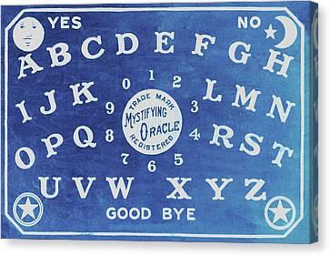 Ouija Board 4 Canvas Print by Tony Rubino