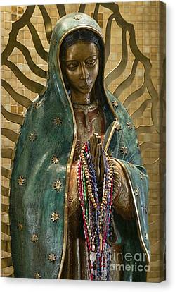 Our Lady Of Guadalupe Canvas Print by John Greim