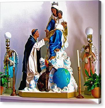 Our Lady Of Peace Canvas Print by Karon Melillo DeVega