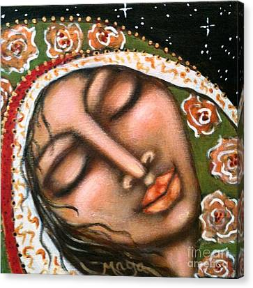 Our Lady Of Peace Canvas Print by Maya Telford