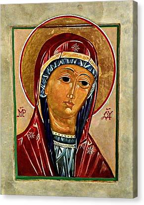Our Lady Of Springfield Canvas Print by Marcelle Bartolo-Abela