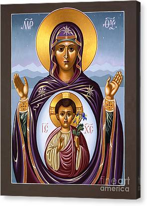 Our Lady Of The New Advent Gate Of Heaven 003 Canvas Print by William Hart McNichols