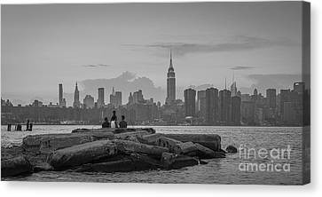 Our Piece Of New York City-223 Canvas Print by Andria Patino