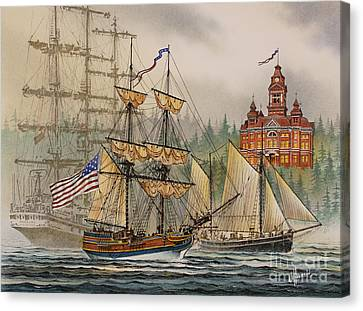 Our Seafaring Heritage Canvas Print by James Williamson