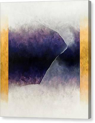 Ouroboros Three Blue, 2010 Canvas Print by Mathew Clum