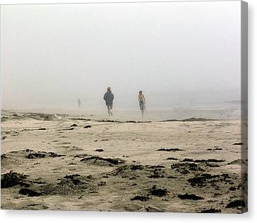 Out Of The Fog Canvas Print by George Cousins