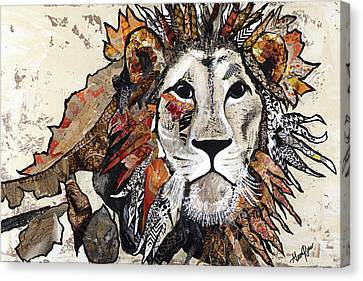 Out Of The Jungle II Canvas Print by Gina Ritter