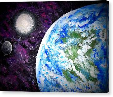 Out Of This World Canvas Print by Daniel Nadeau
