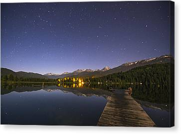 Outrospective Canvas Print by Aaron S Bedell