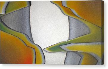 Outside The Box Canvas Print by Bill Morgenstern