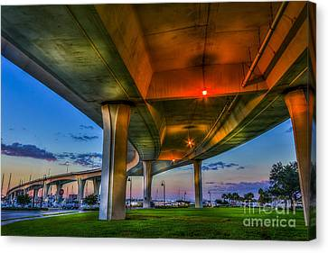 Over And Beyond Canvas Print by Marvin Spates