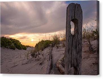 Over The Dunes Canvas Print by Kristopher Schoenleber