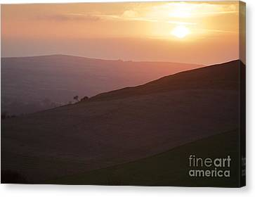 Over The Hill Canvas Print by Gary Bridger