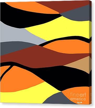 Overlap Canvas Print by Eloise Schneider
