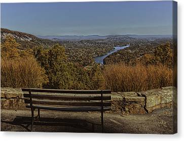 Overlooking Lake Lure Canvas Print by Kevin Senter