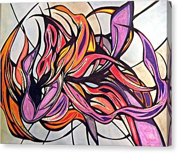 Overwhelmed Canvas Print by Tara Francoise