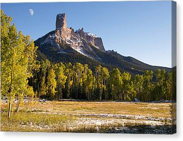 Owl Creek Pass Canvas Print by Aaron Spong